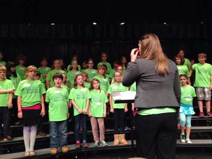Children's Chorus Festival T-Shirt Photo