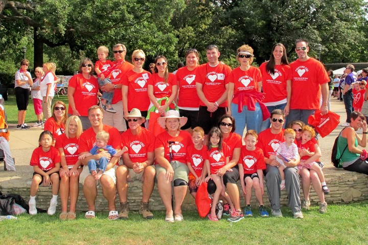Team Heart Warrior Cal T-Shirt Photo