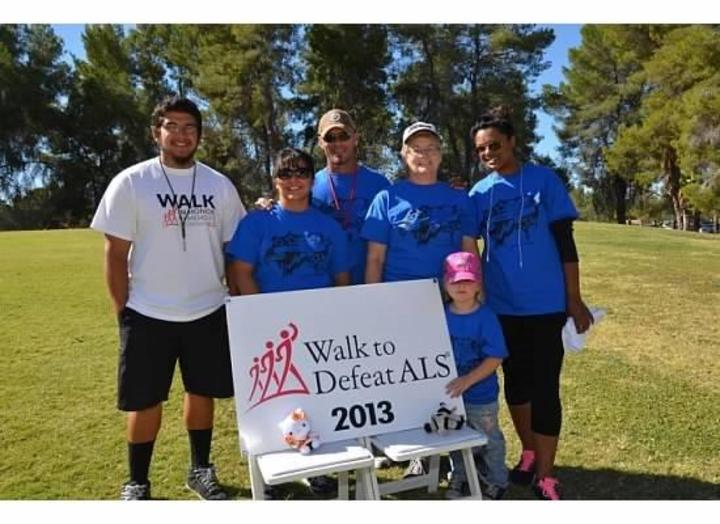 2013 Walk To Defeat Als Al Stars T-Shirt Photo