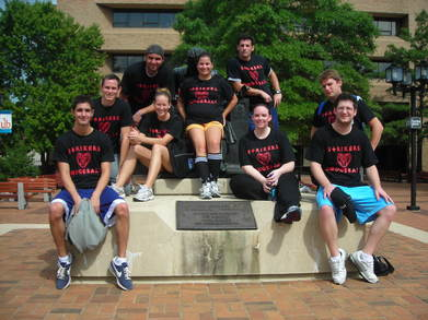 University Of Baltimore Intramural Dodgeball Champions T-Shirt Photo