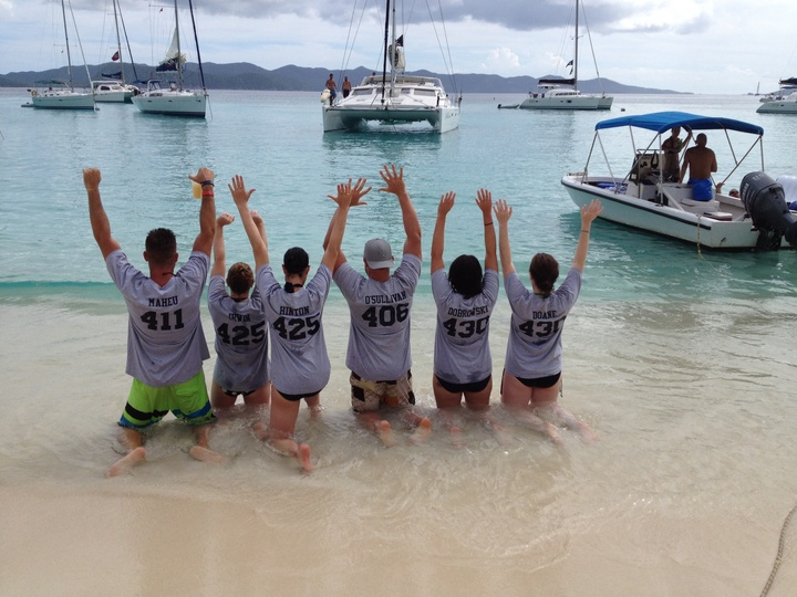 British Virgin Islands We Say Hello T-Shirt Photo