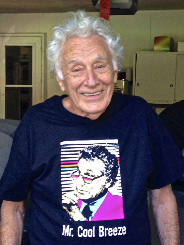 Mr. Cool Breeze   90 Years Old! T-Shirt Photo