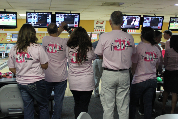 "Poh ""Rack Attack"" Bowling Team T-Shirt Photo"