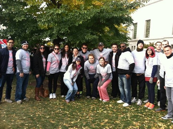 Rivs Making Strides Against Breast Cancer T-Shirt Photo