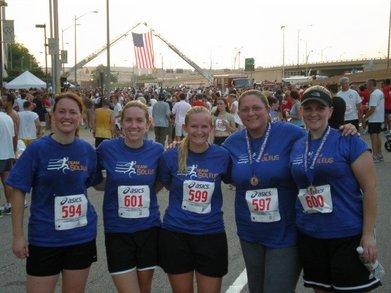 Team Soleus Runs The Arlington 9 11 Memorial 5k T-Shirt Photo