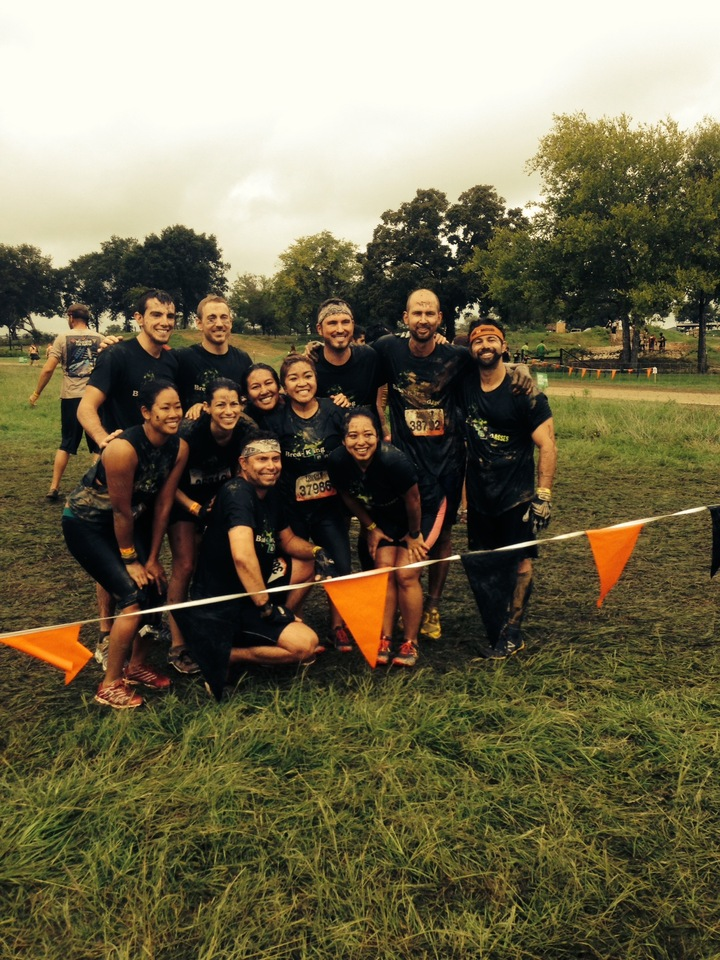 Breaking Badasses   Tough Mudder 2013   Dallas, Tx T-Shirt Photo