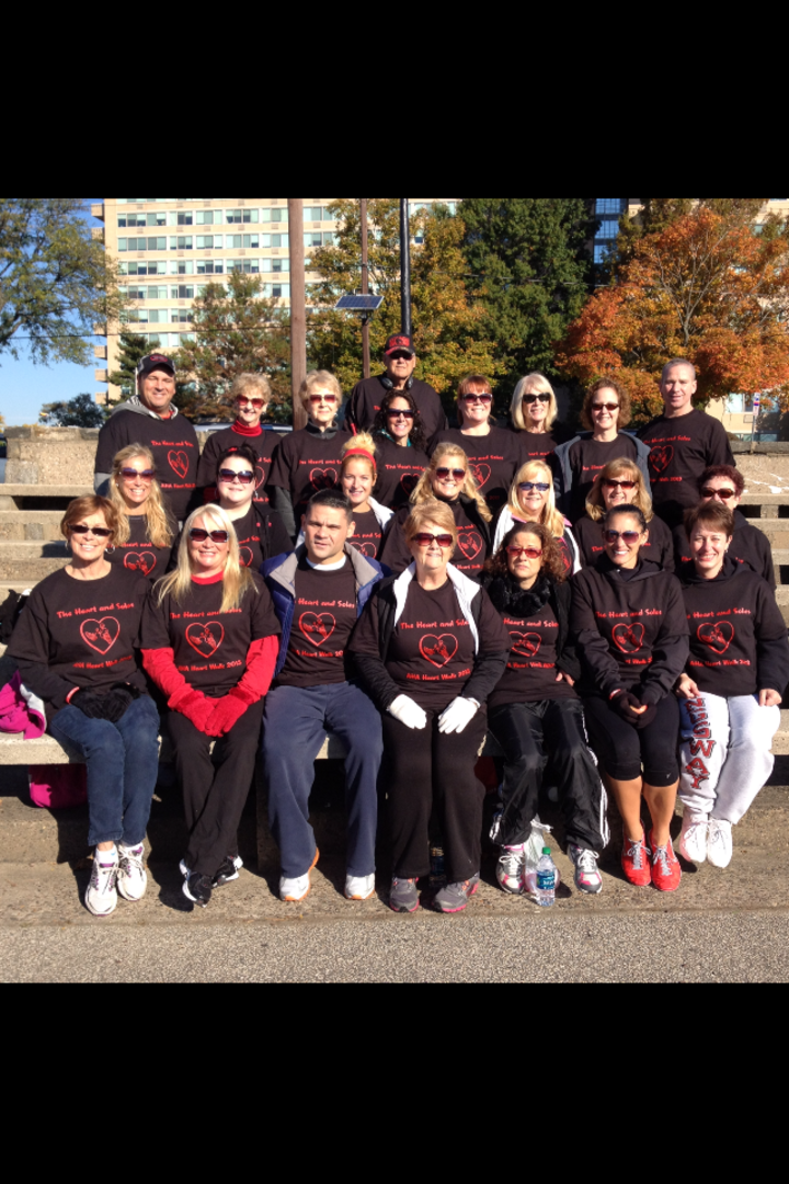 Aha Heart Walk   Team Heart & Soles T-Shirt Photo