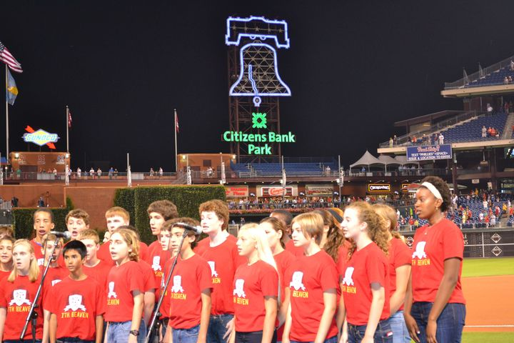 7th Heaven In City Bank Park T-Shirt Photo