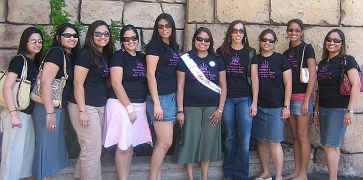 Shilpa's Bachelorette Party In Vegas!!!! T-Shirt Photo