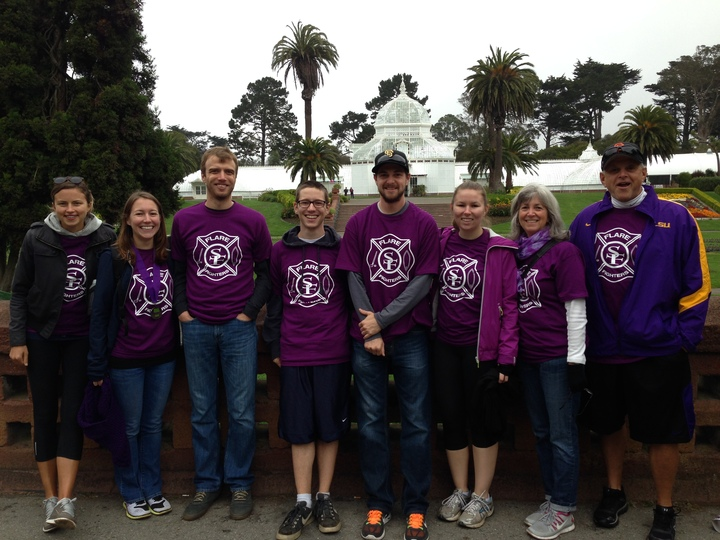 Lupus Walk Sf: The Flare Flighters T-Shirt Photo