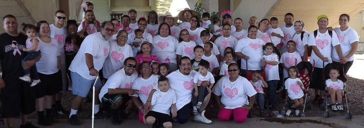 Breast Cancer Walk T-Shirt Photo