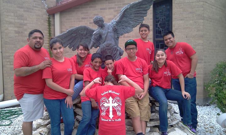 St. Michael Youth Group T-Shirt Photo