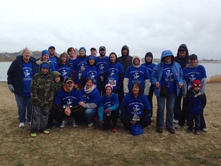 Getting Our Chilly Rears In Gear! T-Shirt Photo