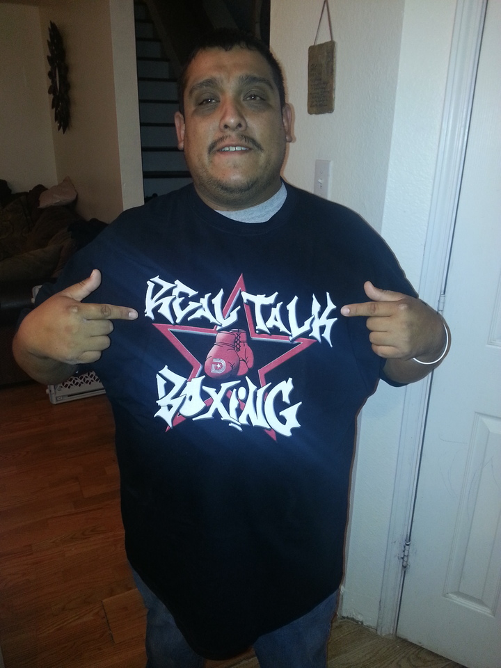 Realtalkboxing T-Shirt Photo