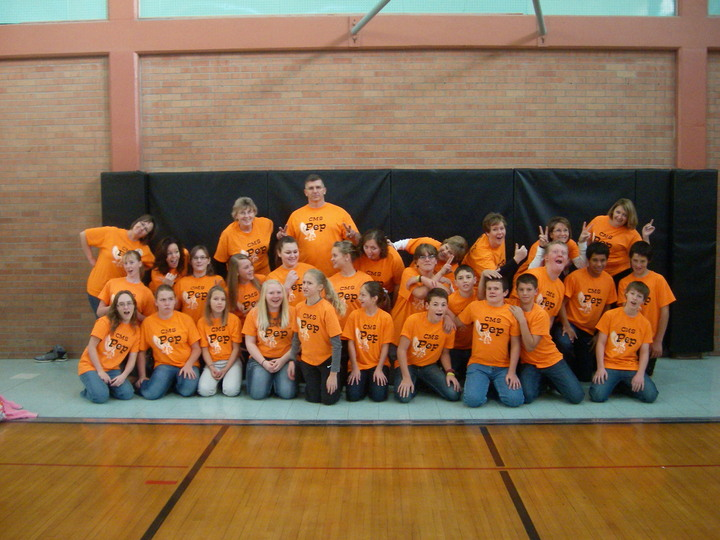 Colby Middle School Pep T-Shirt Photo