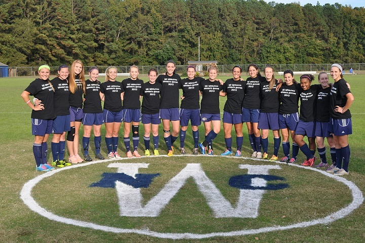 Nc Wesleyan College Women's Soccer T-Shirt Photo