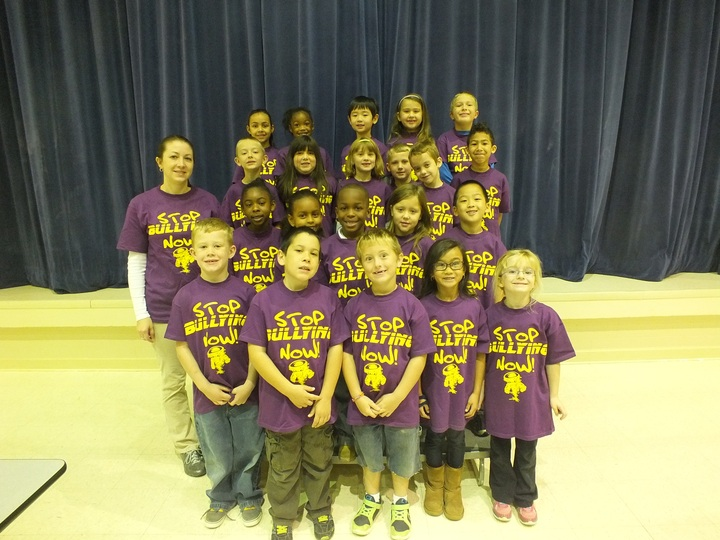Tre Tornadoes Stop Bullying! T-Shirt Photo