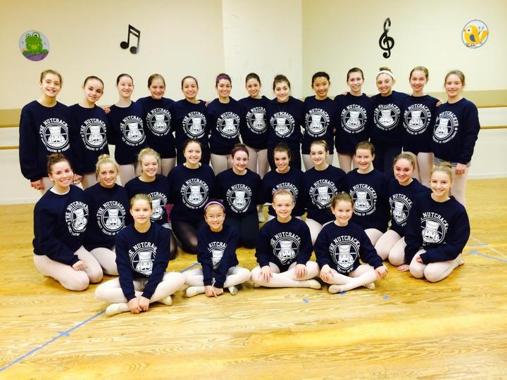 Preparing To Dance Our Nutcracker! T-Shirt Photo