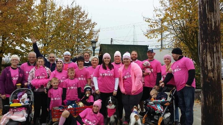 Making Strides Against Breast Cancer Walk 2013 T-Shirt Photo