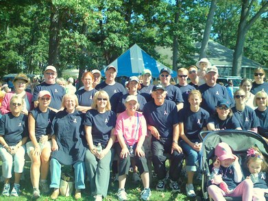 Crew Cadden's Walk For The Cure T-Shirt Photo