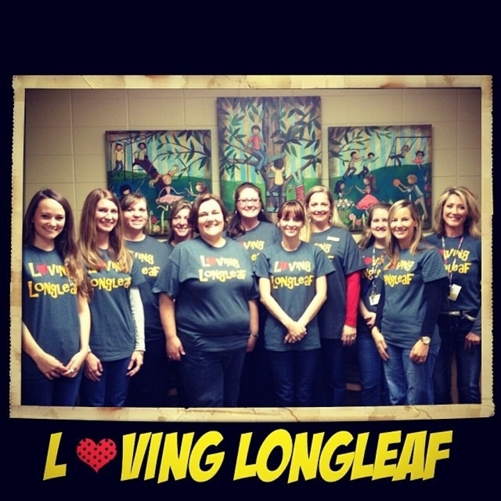 Loving Longleaf Elementary School T-Shirt Photo