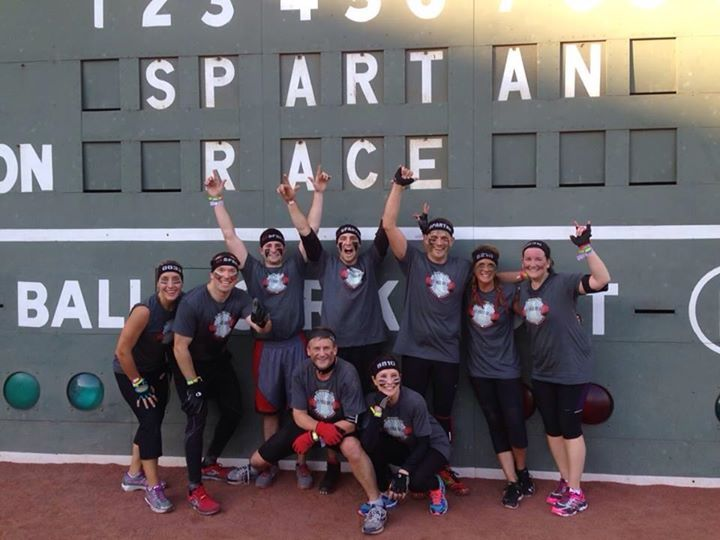 "Team ""Lift Free Or Die"" At The Spartan Challenge T-Shirt Photo"