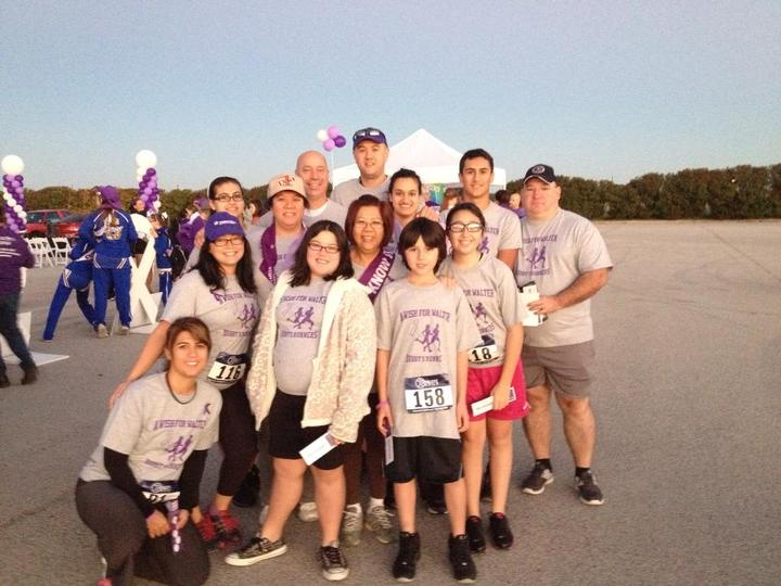 Purple Stride San Antonio 5 K T-Shirt Photo