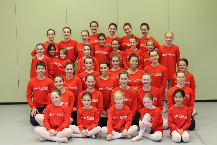 Clara's Dream Ballet Dancers T-Shirt Photo