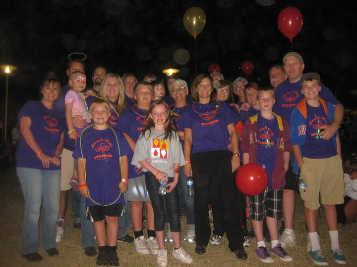 Fight Leukemia   Light The Night Walk T-Shirt Photo