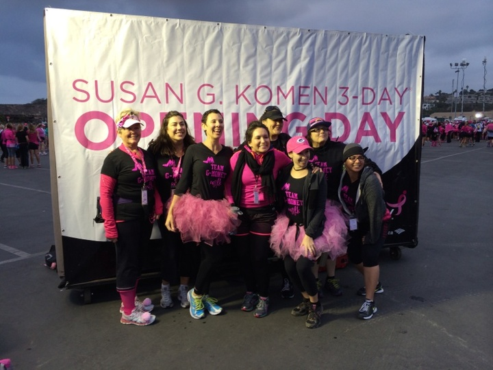 Susan G. Komen 3 Day Walk San Diego T-Shirt Photo