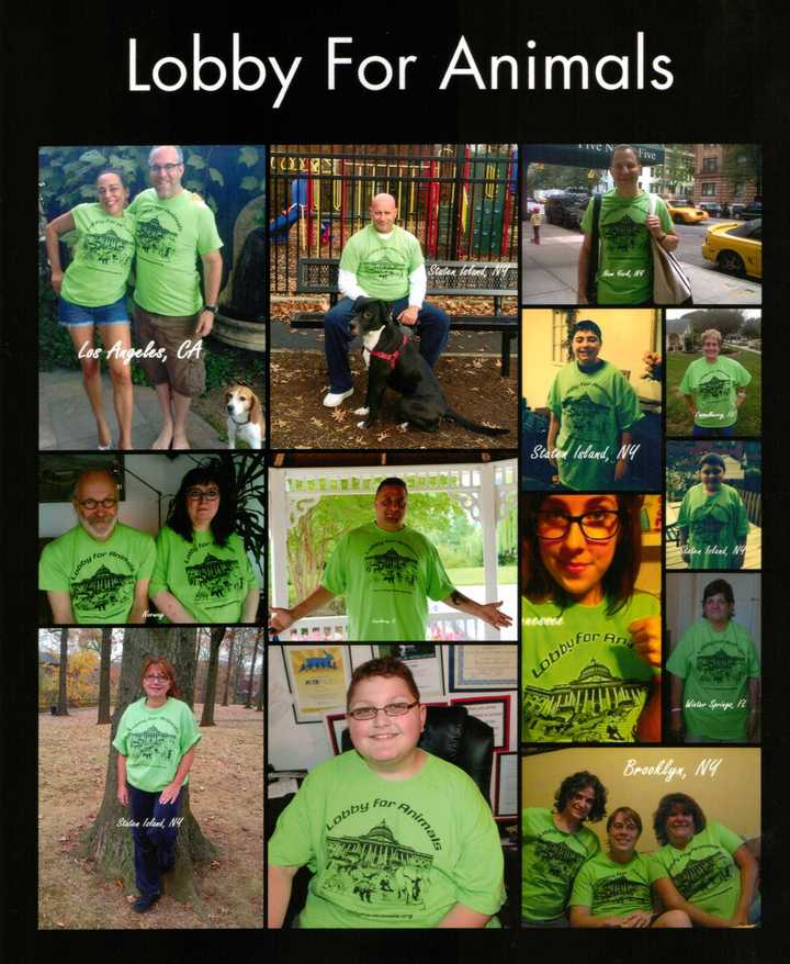 Lobbying For Animals All Across The World! T-Shirt Photo