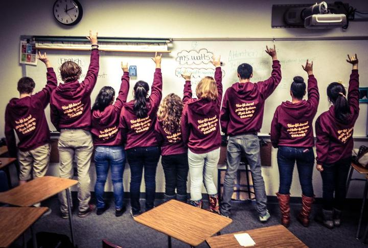 Lchs Be The Change! T-Shirt Photo