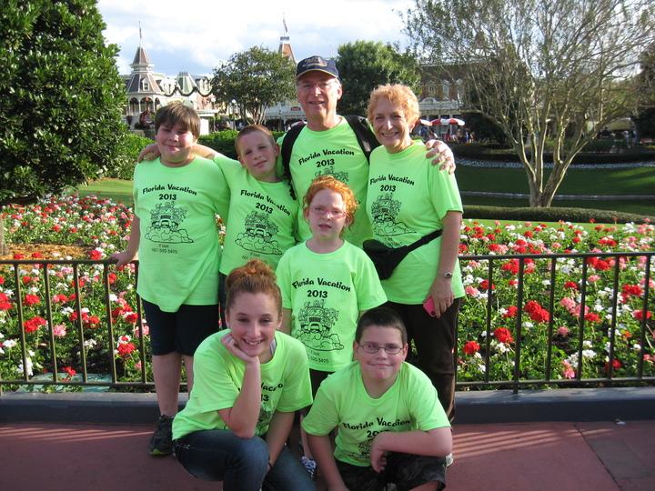 At The Magic Kingdom T-Shirt Photo