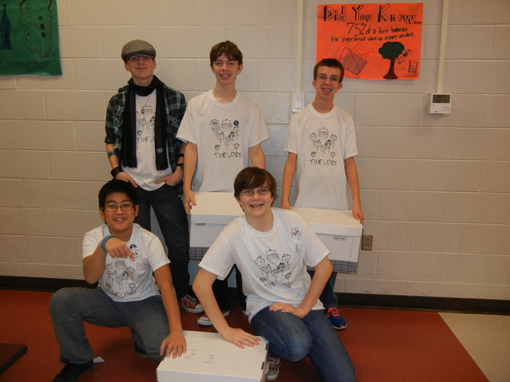 Competing At Ross Rambotics First Lego League Robotics Competition T-Shirt Photo