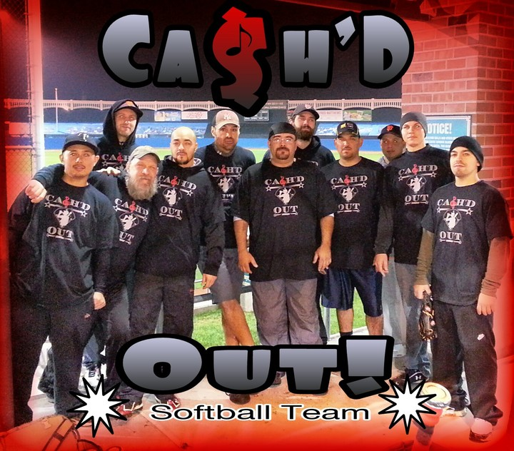 Cash'd Softball Team T-Shirt Photo