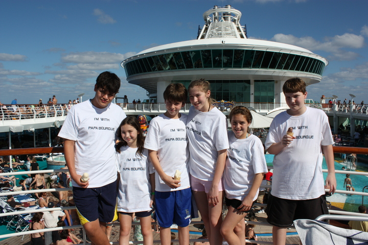 Papa's 80th Birthday Cruise T-Shirt Photo
