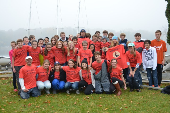Minnetonka High School Sailing Team T-Shirt Photo
