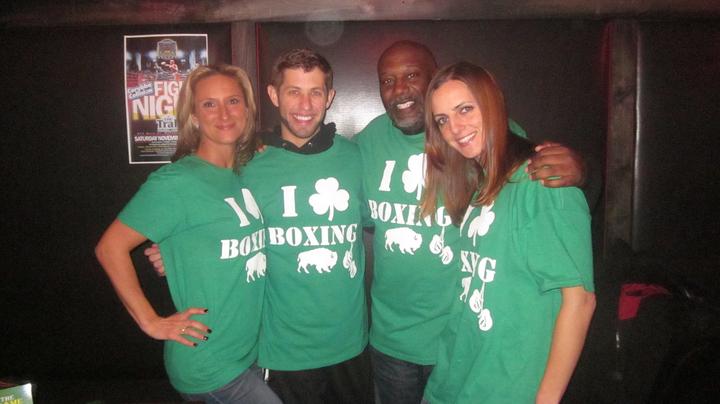 Buffalo Boxing T-Shirt Photo