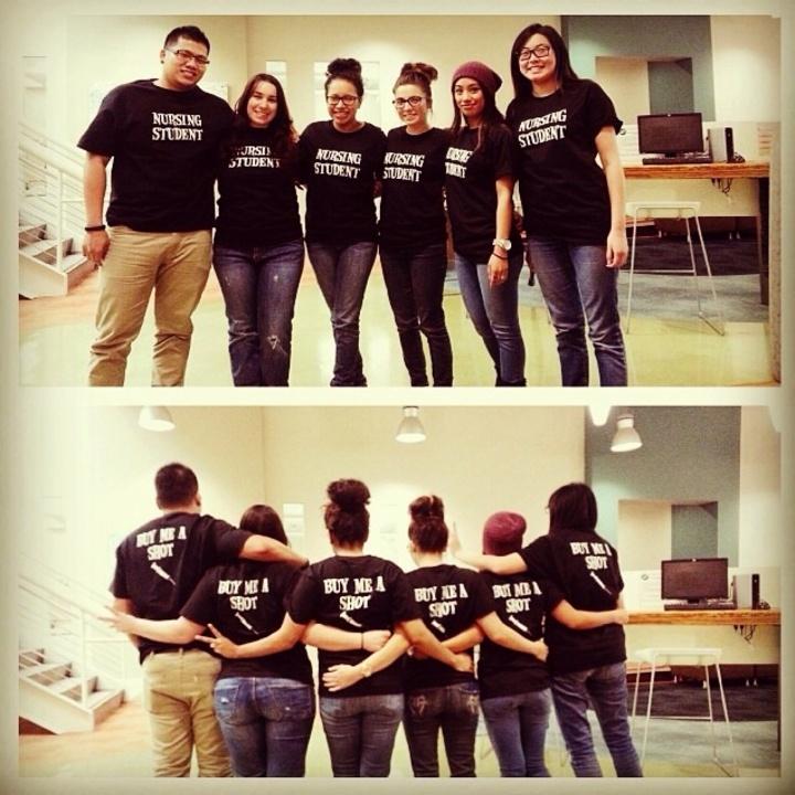 Nurses And Shots T-Shirt Photo