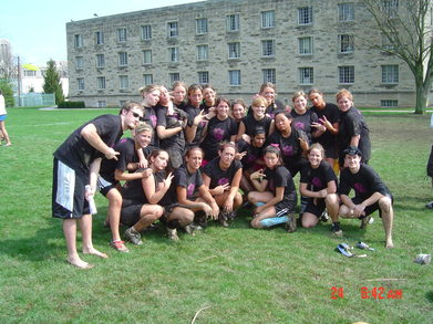 Kappa Kappa Gamma Powder Puff Football Champs '07! T-Shirt Photo