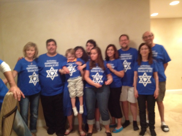 Fleischman Thanksgivukkah T-Shirt Photo