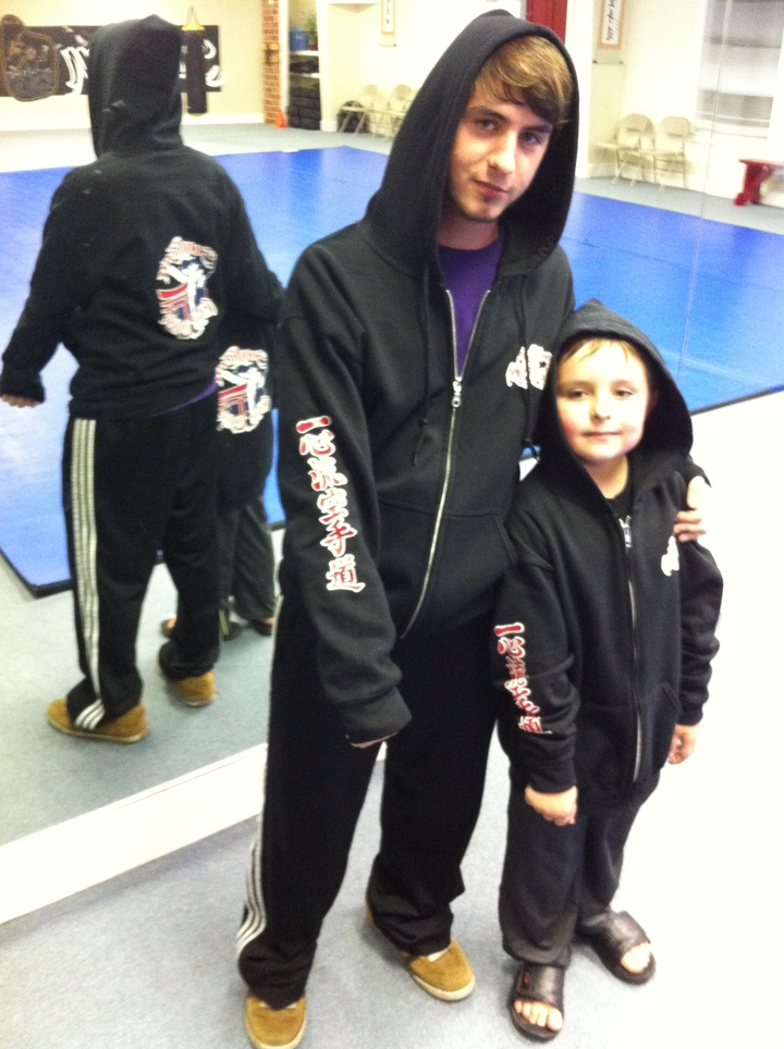 Sensei And Christian T-Shirt Photo