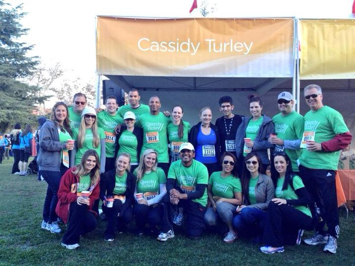 Cassidy Turley La Was A Proud Sponsor For United Way Of Greater La's Home Walk 2013! T-Shirt Photo
