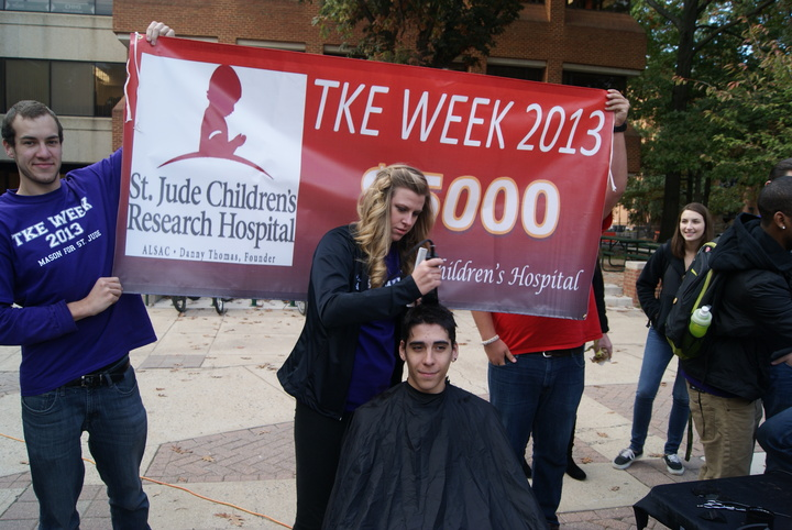 Tke Week 2013  Head S Have For St. Jude Children's Hospital T-Shirt Photo