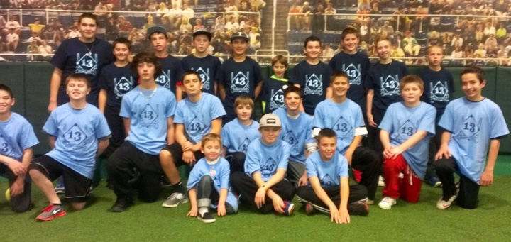 13th Birthday Wiffle Ball Team Picture T-Shirt Photo