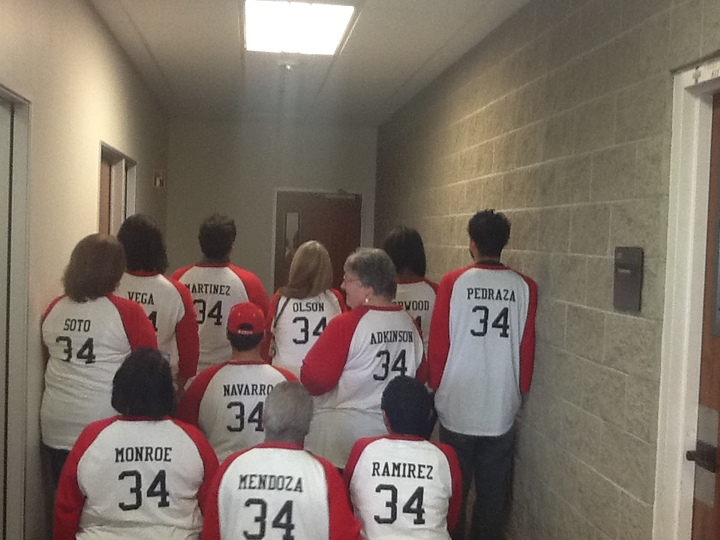 Awesomeness From Front To Back T-Shirt Photo
