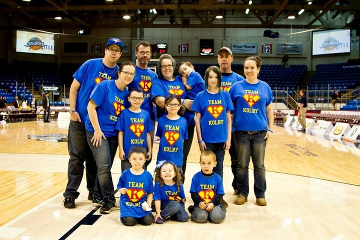 Team Kolby Supporting Diabetes Research! T-Shirt Photo