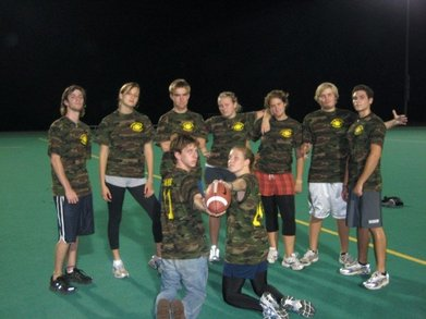 Bamf Im Football T-Shirt Photo