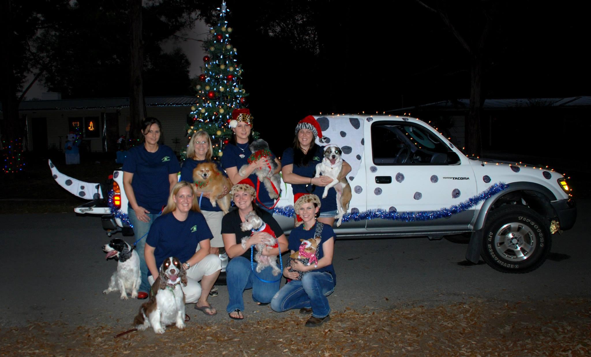 Christmas parade ideas - Keystone Heights Animal Hospital Christmas Parade 2013