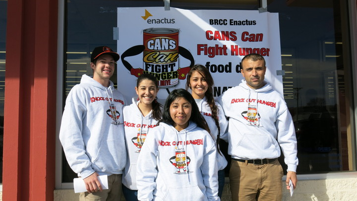 Brcc Enactus Cans Can Fight Hunger Food Drive  T-Shirt Photo